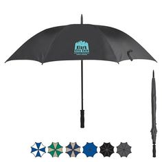 "Promotional 60"" Arc Ultra Lightweight Umbrella 