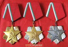 Medallas al mérito en el trabajo. Bulgaria