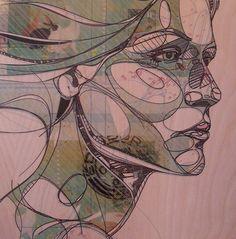 drawing,face,profile,bg pink,portrait,sketch-c28b27ea60d3dd420a60610f41930d02_h by zanedarkart1, via Flickr