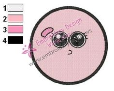Anais The Amazing World of Gumball Embroidery Design