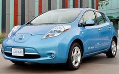 Nissan Leaf. 2012