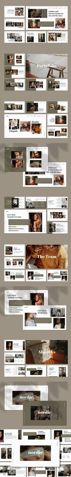 Nordic - Powerpoint Template