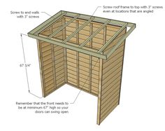 Build a Small Cedar Fence Picket Storage Shed Roof Storage, Diy Storage Shed Plans, Wood Shed Plans, Small Storage, Storage Sheds, Outdoor Storage, Ana White, Flat Roof Shed, Bbq Shed