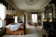 Rosedown Plantation Bedroom | Rosedown Plantations | Louisiana Plantations Rosedown !!!! | Pinterest