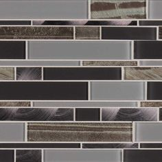 It's all in the mix with Metallica. Pewters, silvers, and graphites. This new mosaic mixes rich metals and finishes to bring energy and style to your space.