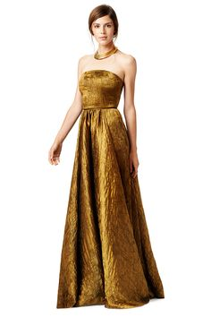 Rent Gold Mine Gown by Plein Sud for $300 only at Rent the Runway.