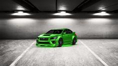 Come ti sembra il mio tuning #Subaru #WRXSTI 2014 in 3DTuning #3dtuning #tuning