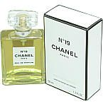 Chanel No. 19 perfume was first marketed in 1971. The number 19 was chosen to commemorate Coco Chanel's birthday, 19 August. The perfume was launched a year before she died. This used to be a favorite summer fragrance of mine, but alas, it is no longer available in the U.S.