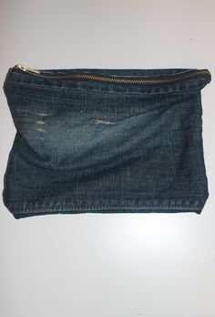 clutch out of old jeans!