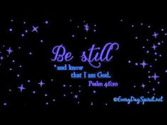 Be still and know! #90InspirationalSeconds  www.meditationsimple.com