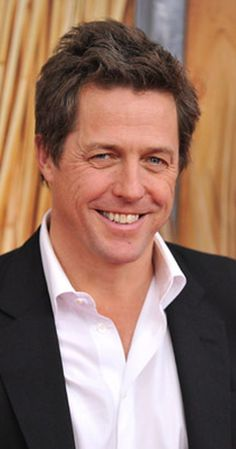 Hugh Grant, Actor: About a Boy. Hugh Grant, one of Britain's best known faces, has been equally entertaining on-screen as well as in real life, and has had enough sense of humor to survive a media frenzy. He is known for his roles in Four Weddings and a Funeral (1994), with Andie MacDowell, Nottinguhiru no koibito (1999), opposite Julia Roberts, and Music and Lyrics (2007), opposite Drew Barrymore, among his other works. He was ...