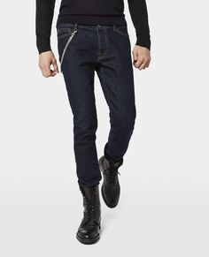 The Kooples - Blue Brut Denim and Chain