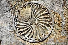 """""""eguzkilore"""" -sunflower- ancient basque symbol."""