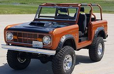 lots of fun. The interior is all custom and new in good order and in great shape, buckets and console option of course. Convertible top is in excellent condition, barnd new and works as it should. Classic Bronco, Classic Ford Broncos, Classic Trucks, Early Bronco, Ford Trucks, Monster Trucks, Cars, Buses, Motorcycles