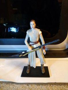 Black Series Rey display stand