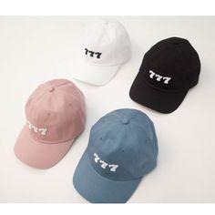 777 CAP (acc160) - 韓国ファッション通販【 GIRLS RULE ガールズルール】