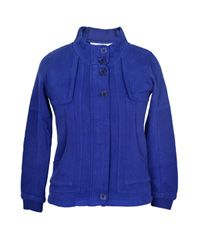 Sweat Terry With Front Placket Zipper    Buy from here http://www.rageonline.co.in/cardigans-for-women