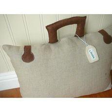 Take Me Anywhere Suitcase Pillow #IncredibleThings