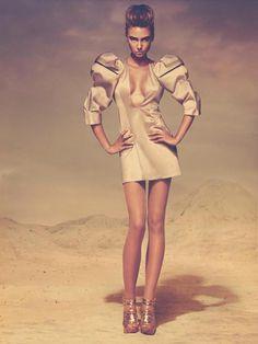 Desert Storm on Makeup Arts Served