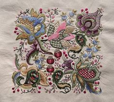 Sunburnt Quilts 2015 - Jacobean Embroidery (2)