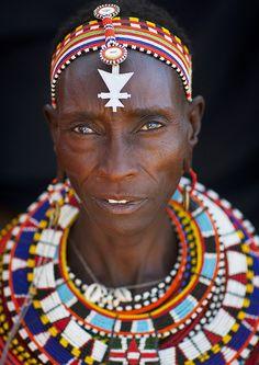 Samburu tribe woman - Kenya by Eric Lafforgue, via Flickr