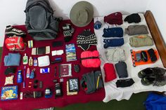 Packing for a 5 day trek in Nepal