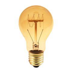 Dedeman Bec decorativ sferic cu filament TG Edison A19 E27 60W - Incandescente - Becuri, surse de iluminat - Corpuri si surse de iluminat - Electrice - Dedicat planurilor tale