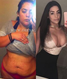 Andrea Carolina Explains Exactly What She Did To Lose 110 Pounds!