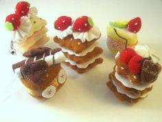 Mini felt cake charms by Meow-Box.deviantart.com on @deviantART
