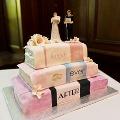 happily ever after wedding cake - Google Search