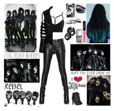 """""""✖ Read D! ✖ Fight for all you know when your backs against the wall. Stand against the liars. Stronger than before. When your life becomes a war set the world on fire. ✖"""" by blueknight ❤ liked on Polyvore featuring Balmain, Aspinal of London, Miu Miu, NARS Cosmetics, Christian Dior and Iosselliani"""