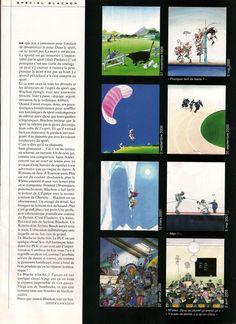 Blanchon - L'Équipe Magazine - 20 Ans de Blachon 2/8 - samedi 22 octobre 2005 - N° 1219