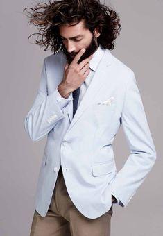 Maximiliano Patane Models Sharp Designer Suits for El Palacio de Hierro image mp010