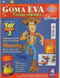 Como hacer a Woody en Goma Eva