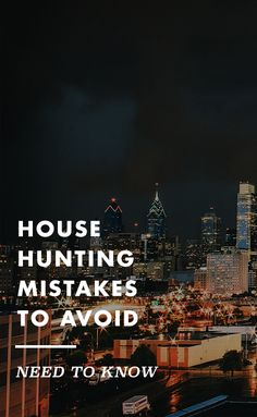 There are bound to be mistakes in the home buying process; avoid as many as you can.