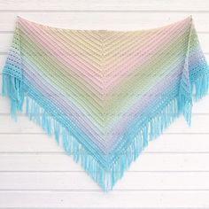 Midnight walk shawl – Pysselofix