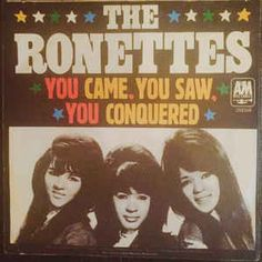 The Ronettes - You Came, You Saw, You Conquered! / Oh I Love You (Vinyl) at Discogs