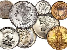 Grading Mint State coins is one of the most difficult and subjective areas in coin collecting. Learn what to look for when grading uncirculated coins. Valuable Pennies, Valuable Coins, Rare Pennies, Bullion Coins, Gold Bullion, Rare Coins Worth Money, Sell Coins, Coin Dealers, Coin Prices