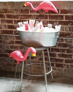 Do it yourself outdoor party games the best backyard entertainment trend alert flamingo decor is your next party go to solutioingenieria Gallery