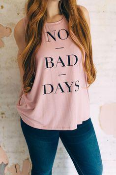 no bad days tank| up to 3XL!  pastel pastel grunge hipster kawaii plus size fashion fachin tank top top plus livingdoll under30