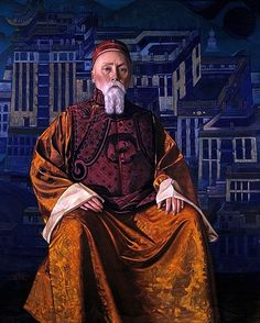 Nicholay Roerich - the artist-philosopher, mystic wanderer, painter, archaeologist and writer.