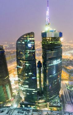 Federation Tower, Moscow, Russia.