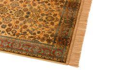 Barefoot 1 Stück Viskose 56/63 41 (DE) 68 x 230 cm, afghanische Ziegler Teppich Läufer, Gold