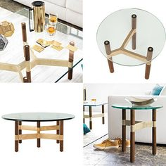 The Helix Table Collection from Chris Hardy.  So pretty - where could it go?
