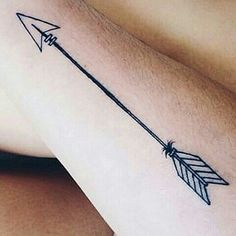 Arrow tattoo