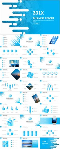 31 Creative Blue infographics PowerPoint template on Behance Header Design, Web Design, Slide Design, Powerpoint Design Templates, Keynote Template, Cool Powerpoint, Banners, Presentation Layout, Presentation Slides