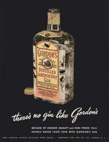 Gordon's Distilled London Dry Gin 1947 Ad Picture