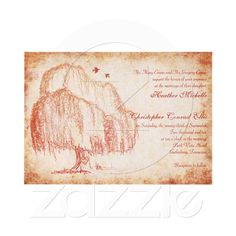willow invitation