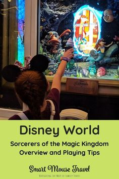 Sorcerers of the Magic Kingdom is a fun, free, and often overlooked activity at Disney World. Learn all about the game, how to start, and tips for playing. Disney World Packing, Disney World Rides, Disney World Tickets, Disney World Florida, Walt Disney World Vacations, Disney Trips, Disney Travel, Disney Honeymoon, Disney Vacation Planning