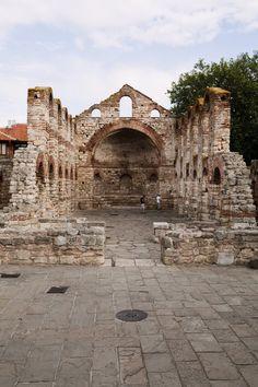 Black Sea Coast - Ruins of medieval church